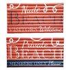 Evergreen Enterprises, Inc 2 Piece Private Beach Metal Corrugated Wall Decor Set