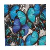 Evergreen Enterprises, Inc Layered Butterflies Painting Print on Canvas