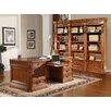 Parker House Furniture Grand Manor Granada Executive Desk and Bookcase