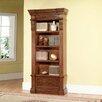 "Parker House Furniture Grand Manor Granada Museum 94.5"" Standard Bookcase"