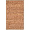LR Resources Natural Fiber Red Area Rug