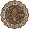 LR Resources Dazzle Brown Area Rug