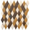"EliteTile Heritage 1.25"" x 2.25 Ceramic Mosaic Tile in Goldstone"