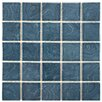 EliteTile Utopia Porcelain Mosaic Tile in Blue