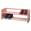 Woodlore Large Single Shoe Rack