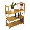 "Corner II LTD Storage Bamboo Shelf 31.5"" Accent Shelves"