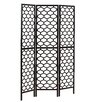 "Monarch Specialties Inc. 71"" x 54"" Frame Lantern Design 3 Panel Room Divider"