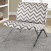 Monarch Specialties Inc. Chevron Lounge Chair