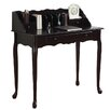 Monarch Specialties Inc. 3 Drawer Secretary Desk in Dark Cherry