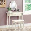 Monarch Specialties Inc. 2 Piece Traditional Vanity Set with Mirror