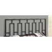 Monarch Specialties Inc. Full Metal Headboard