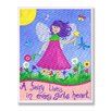 Stupell Industries The Kids Room Fairy Lives In Every Girls Heart Rectangle Wall Plaque