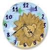 "Stupell Industries 12"" Lion Vanity Clock"