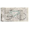 Stupell Industries Bicycle on Newspaper Print Triptych 3 Piece Graphic Art