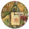 """Stupell Industries 12"""" Grapes of Tuscany Vanity Wall Clock"""