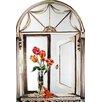 Stupell Industries Tulips and Tassel Faux Window Mirror