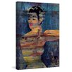 "Parvez Taj ""Bright Red Lips"" Graphic Art on Wrapped Canvas"
