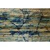 "Parvez Taj Landscape & Nature ""Trees in Blue"" Painting Print"