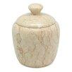 Creative Home Marble Boulder Cotton Ball Holder