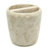 Creative Home Marble Boulder Deluxe Toothbrush Holder