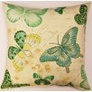 Creative Home Papillon Capri KE Throw Pillow