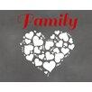 Secretly Designed Family Love Graphic Art Paper Print