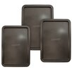 Entenmann's Bakeware 3 Piece Classic Cookie Sheet Set