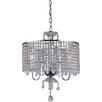 Warehouse of Tiffany Beaded 3 Light Crystal Pendant