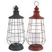 A&B Home Group, Inc Metal Lantern (Set of 2)