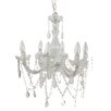 A&B Home Group, Inc 6 Light Crystal Chandelier