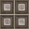 A&B Home Group, Inc 4 Piece Framed Wall Art Set