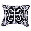 A&B Home Group, Inc Embroidered Cotton Lumbar Pillow