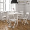 A&B Home Group, Inc Kids' 5 Piece Rectangular Butterfly Table and Chair Set
