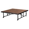 National Public Seating Portable 4' x 4' Height Adjustable Stage