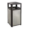 Safco Products Company Evos Series 15-Gal Steel Waste Receptacle