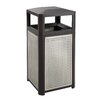 Safco Products Company Evos Series 38-Gal Steel Waste Receptacles