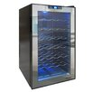 Vinotemp 28 Bottle Single Zone Freestanding Wine Refrigerator