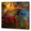 Menaul Fine Art 'Gemstone Flare' by Scott J. Menaul Graphic Art on Wrapped Canvas