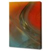 Menaul Fine Art 'Rust Blue' by Scott J. Menaul Graphic Art on Wrapped Canvas