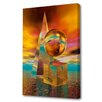 Menaul Fine Art 'Three Forms' by Scott J. Menaul Graphic Art on Wrapped Canvas