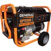 Generac Portable 5,500 Watt Gasoline Generator with Wheel Kit