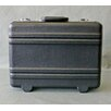 Platt Heavy-Duty Polyethylene Case with Parallel Rib Pattern without Foam in Black: 12.5 x 17.25 x 6