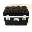 Platt Heavy-Duty ATA Case with Wheels and Telescoping Handle in Black: 21.5 x 32 x 19.75