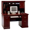 Bush Furniture Birmingham Computer Desk with Hutch