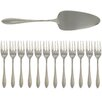 French Home 13 Piece Cake Serving Spatula and Desert Forks Set