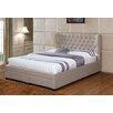 Creative Images International Upholstered Storage Platform Bed