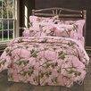 HiEnd Accents Pink Oak Camo Comforter Set