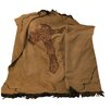 HiEnd Accents Cross Barbwire Faux Suede Throw