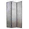 "Screen Gems 71"" x 47"" Industrial 3 Panel Room Divider"