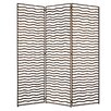 "Screen Gems 72"" x 65"" Minka 3 Panel Room Divider"